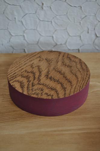無垢材の鍋敷き