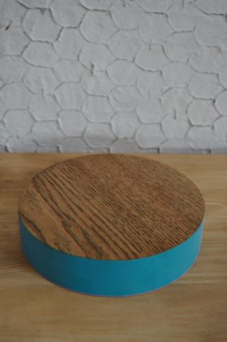 丸い鍋敷き
