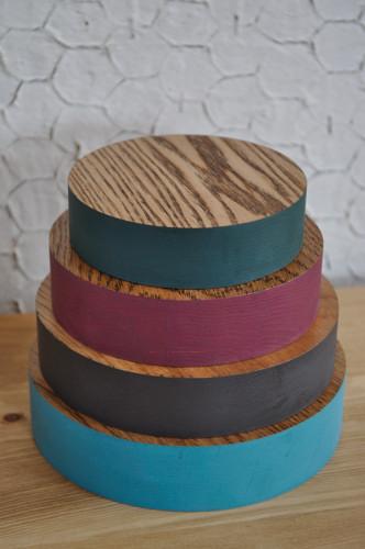 カラーリング鍋敷き