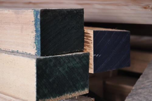 木口のカラーリング