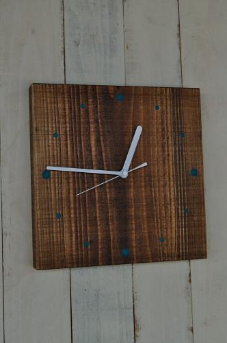 四角の時計