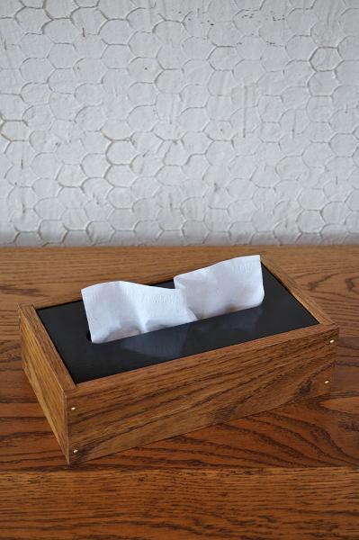 ホワイトオーク材のティッシュケース