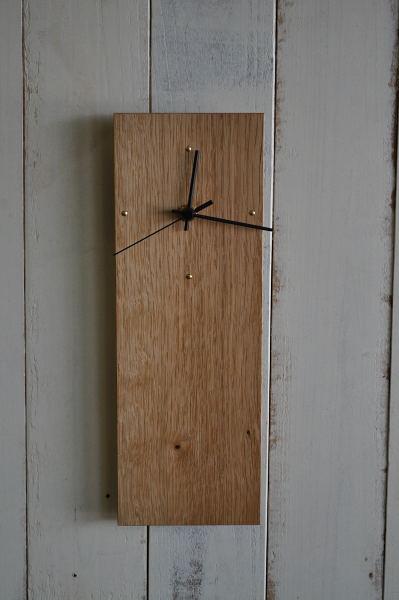 薄板の時計
